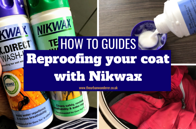 How to reproof your coat with Nikwax