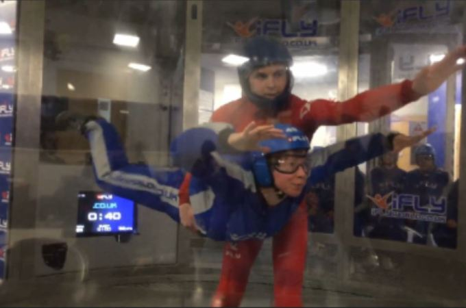 Indoor skydiving at iFly Manchester