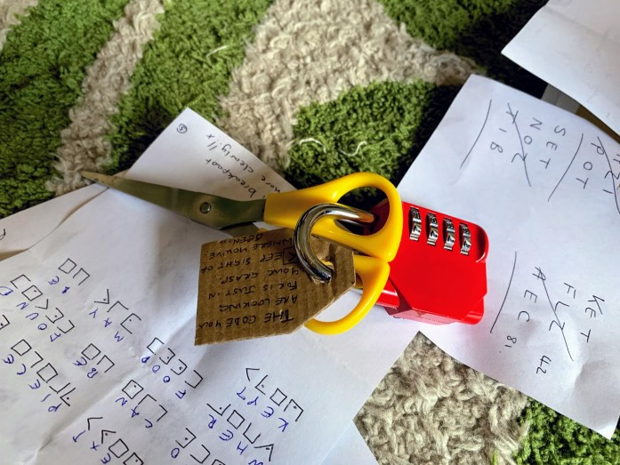 DIY Escape Room | escape room at home | The Urban Wanderer | Sarah Irving | UK | Outdoor Blogger | Travel Blogger | Manchester Blogger