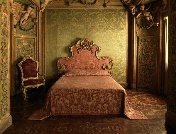 Gallery 507, Sagredo Palace Bedroom; Bedroom from the Palazzo Sagredo, Venice. (ca. 1720 or later)
