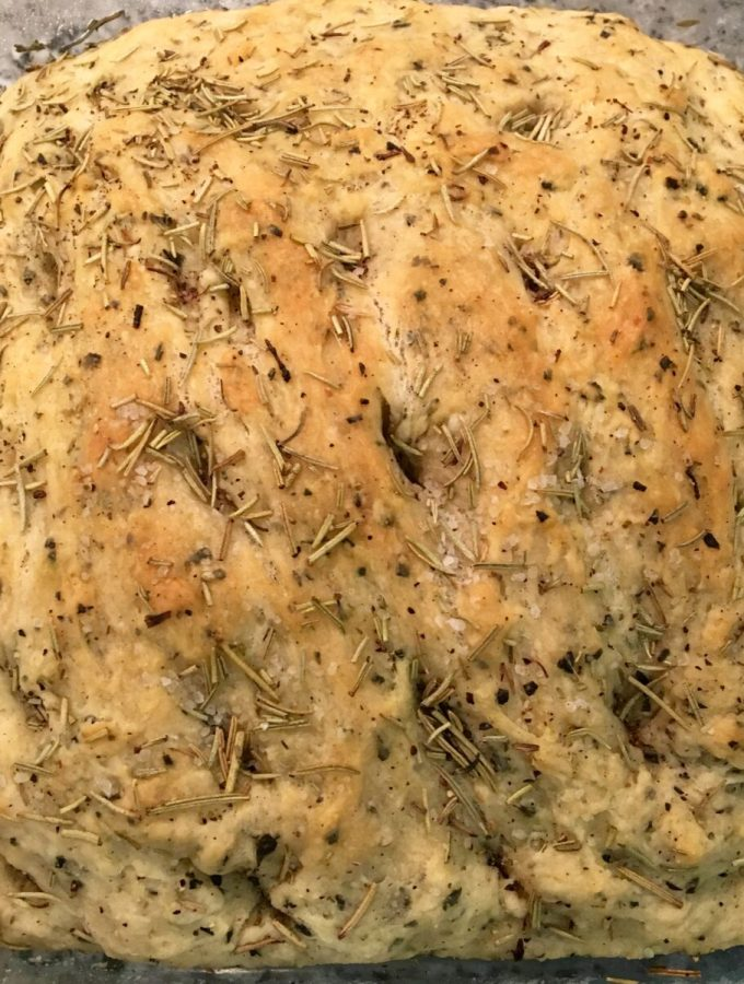 Homemade Focaccia Bread / The Urben Life Blog