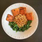 Buffalo Tofu Helathy Bowl
