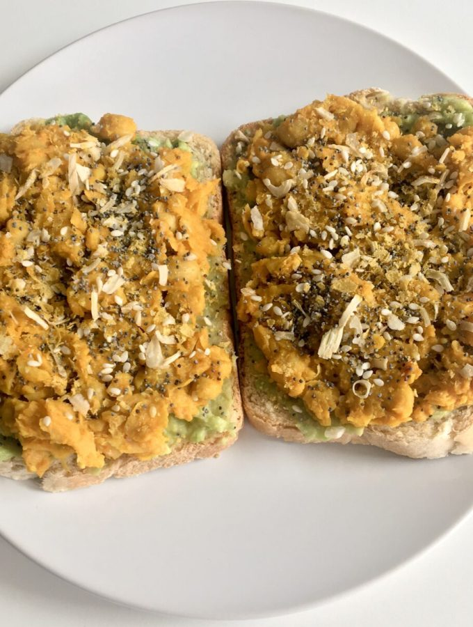 Smashed Chickpea & Avocado Toast
