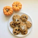 Coconut Pumpkin Chocolate Chip Cookies