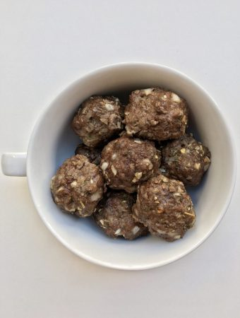 Dairy Free and Egg Free Meatballs