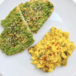 simple tofu scramble