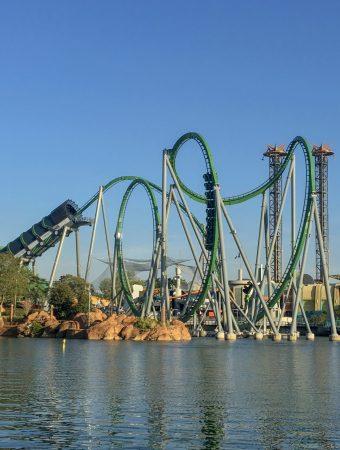 Hulk Coaster Universal Orlando
