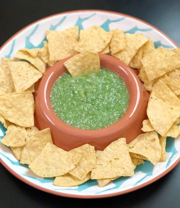 Easy Homemade Tomatillo Salsa Recipe
