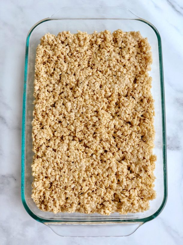 Homemade Pumpkin Spice Rice Krispies Treats