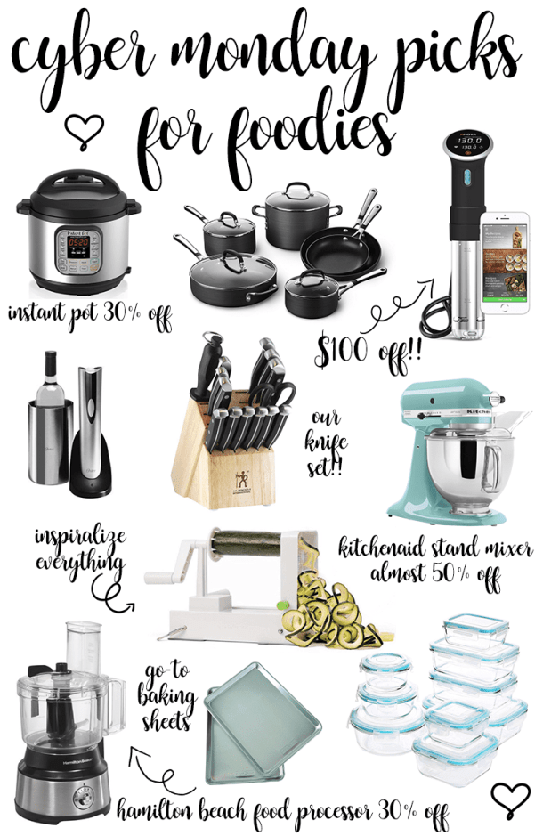 Cyber Monday Sales For Foodies