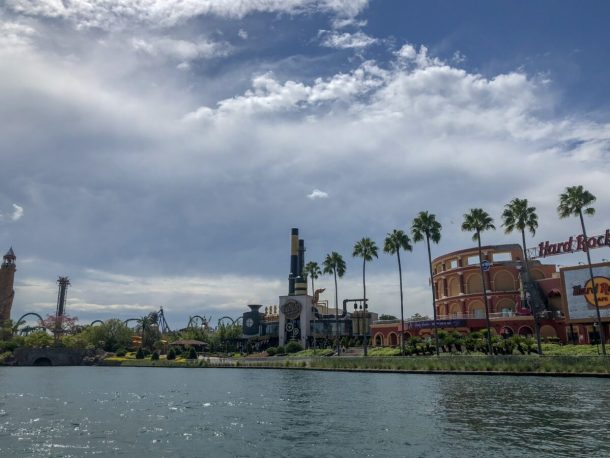 CityWalk Universal Orlando FL from Water Taxi