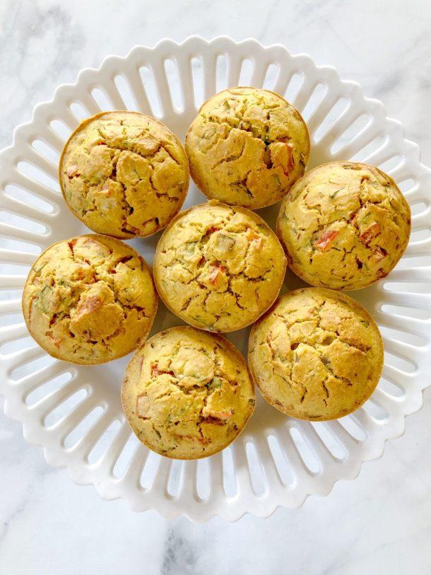 Eggless Breakfast Muffins (Dairy-Free, Gluten-Free, Vegan)