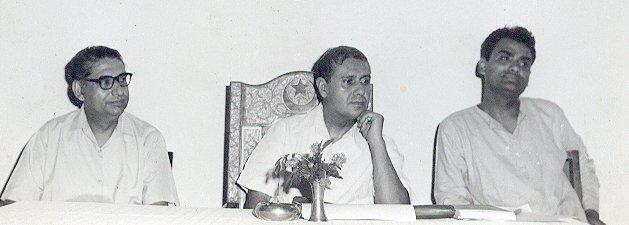 Qudrat Ullah Shahab and Muhammad Tufail