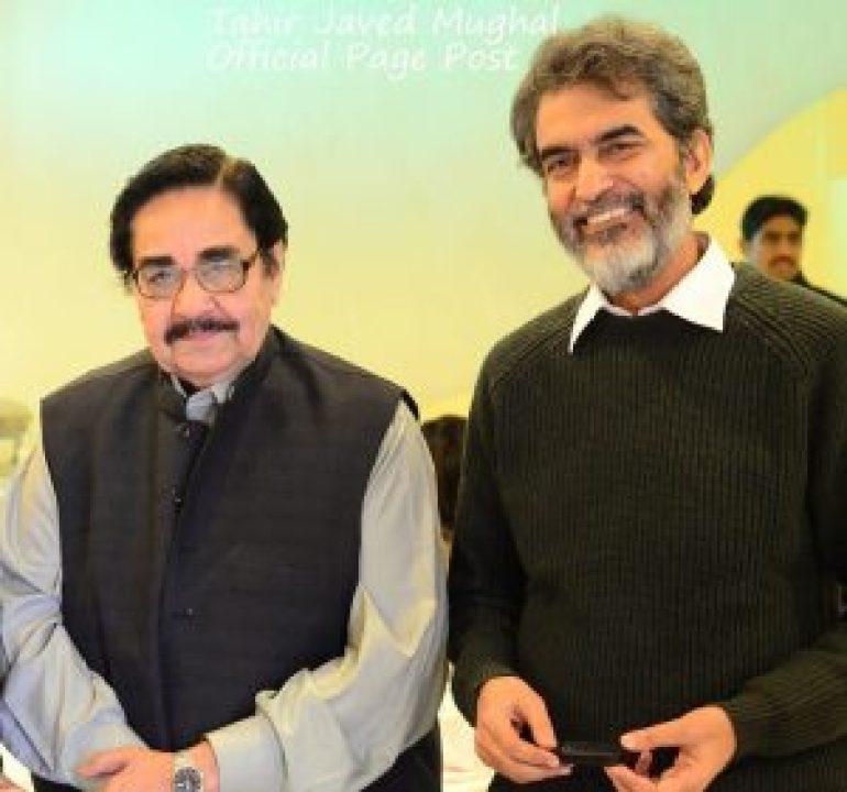 Tahir Javed Mughal with MA Rahat