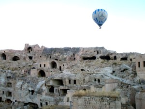 April - Floating over Fairy Chimneys in Cappadocia