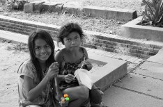 Little girls, Siem Reap