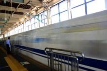 Bullet Train - Hiroshima, Japan