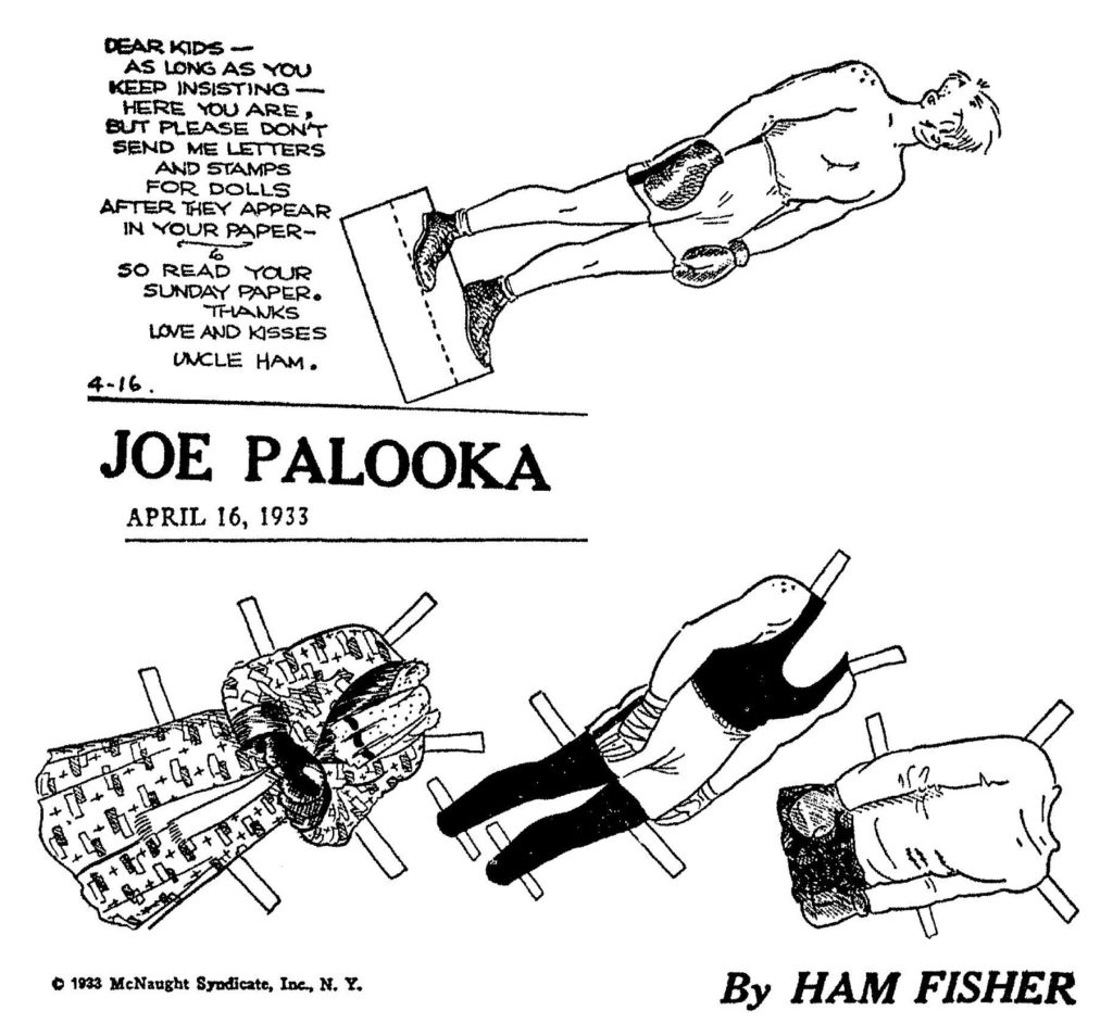 Joe Palooka The Heavyweight King Of The Comics The Usa