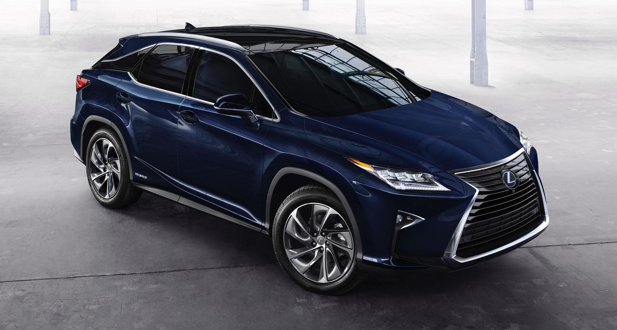 Lexus RX 2016 Vs Lexus RX 2015 What is new