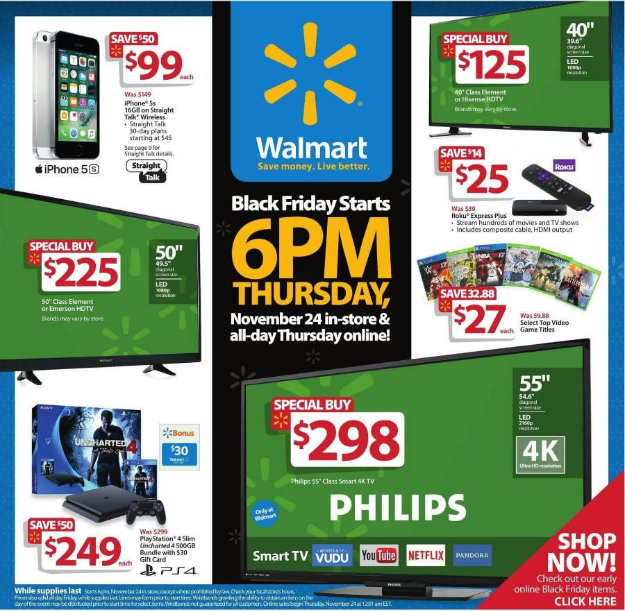 Walmarts Black Friday deals highlights