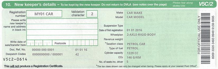 Find My Car Registration Online