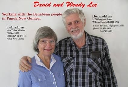 David and Wendy Lee