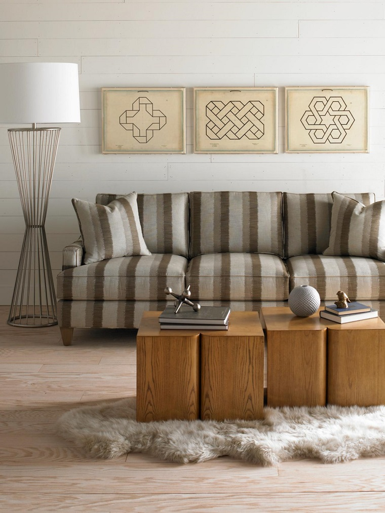 decorate with pictures natural wood modern living room ideas