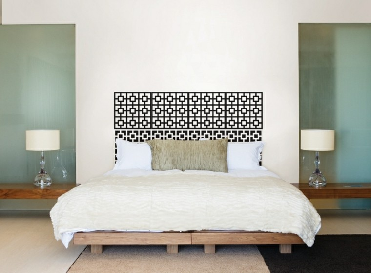 headboard bed wall vinyl