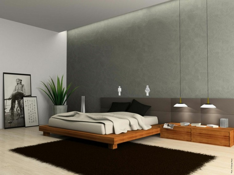 wall color gray modern style