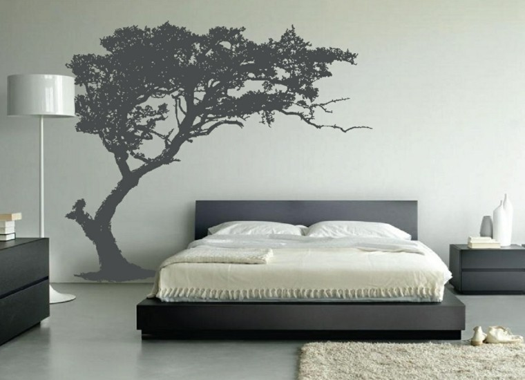 vinyl tree wallcovering