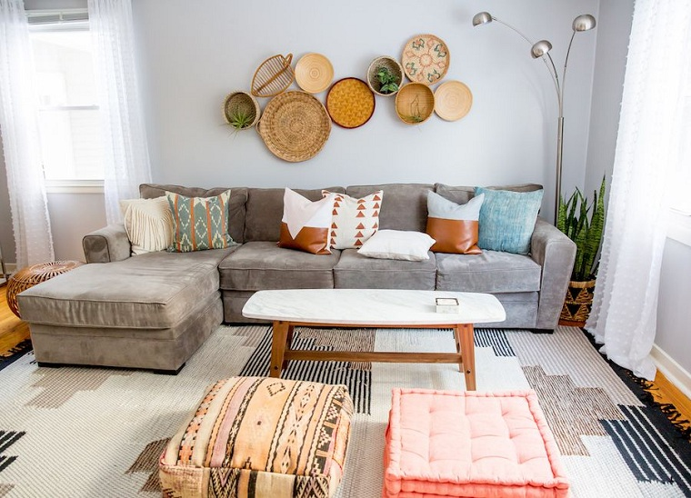bohemian-interior-eclectic style