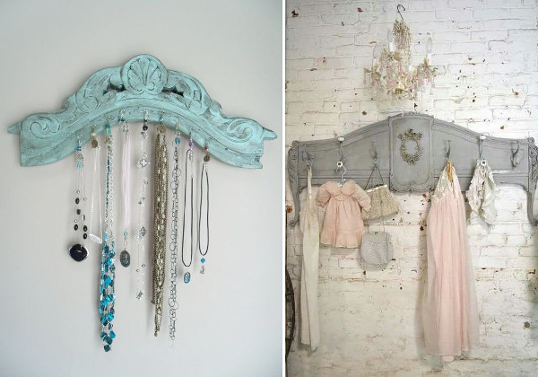 Vintage clothes racks for antique furniture