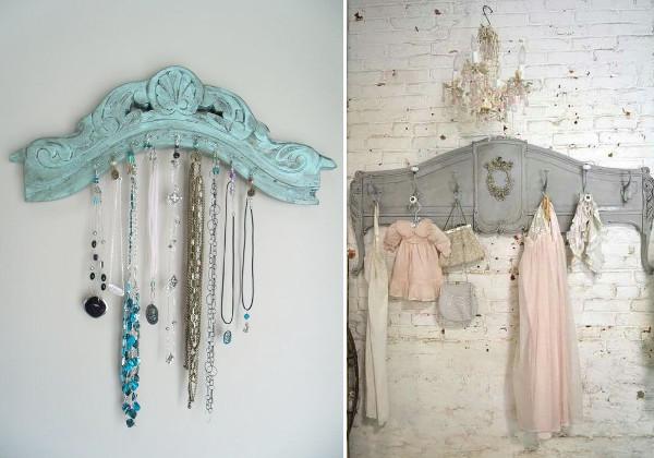 Vintage clothes racks for antique furniture