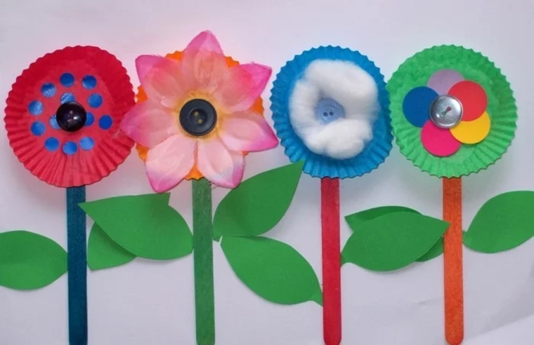 paper-and-cardboard flowers