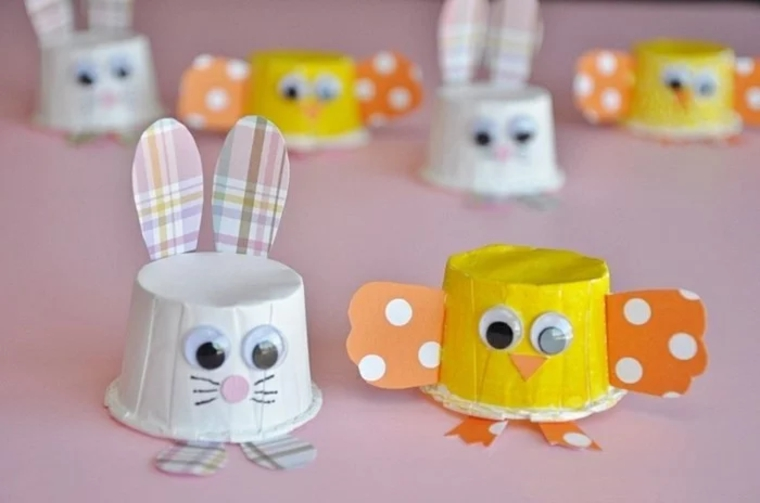 creative crafts rabbits-and-chickens