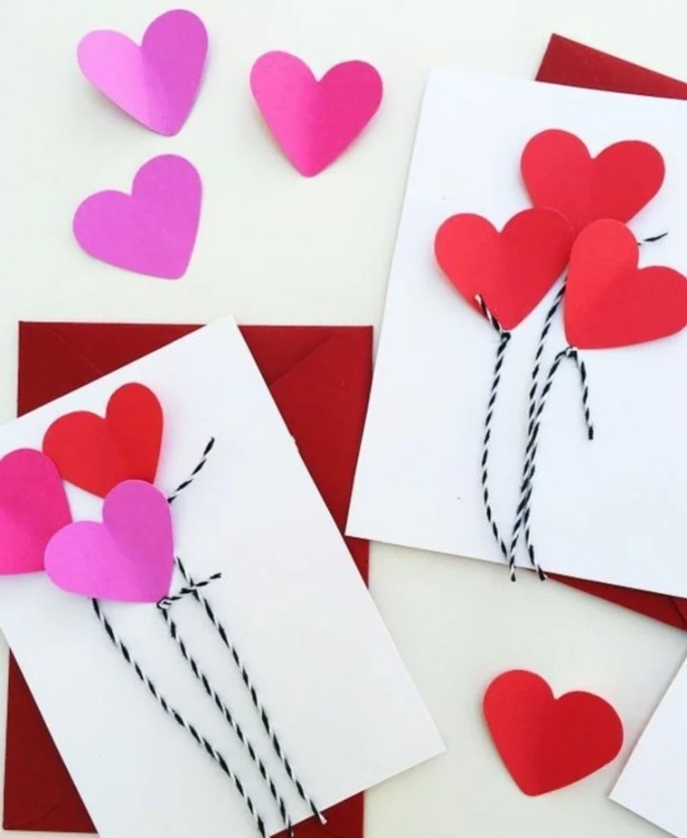 creative crafts hearts