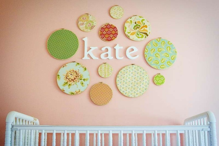 tapestry wall name baby kate