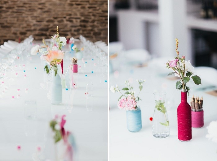simple center precious table ideas