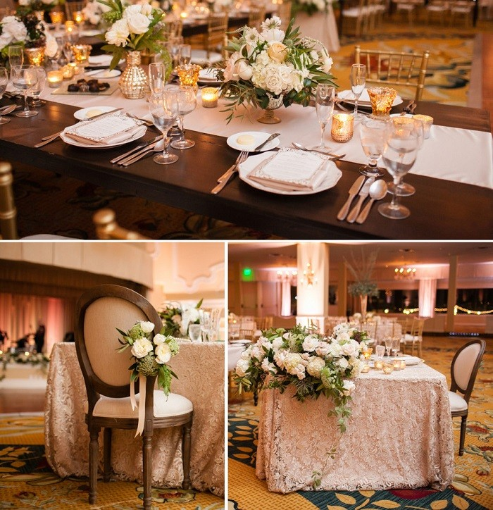 centers table precious weddings path table white ideas