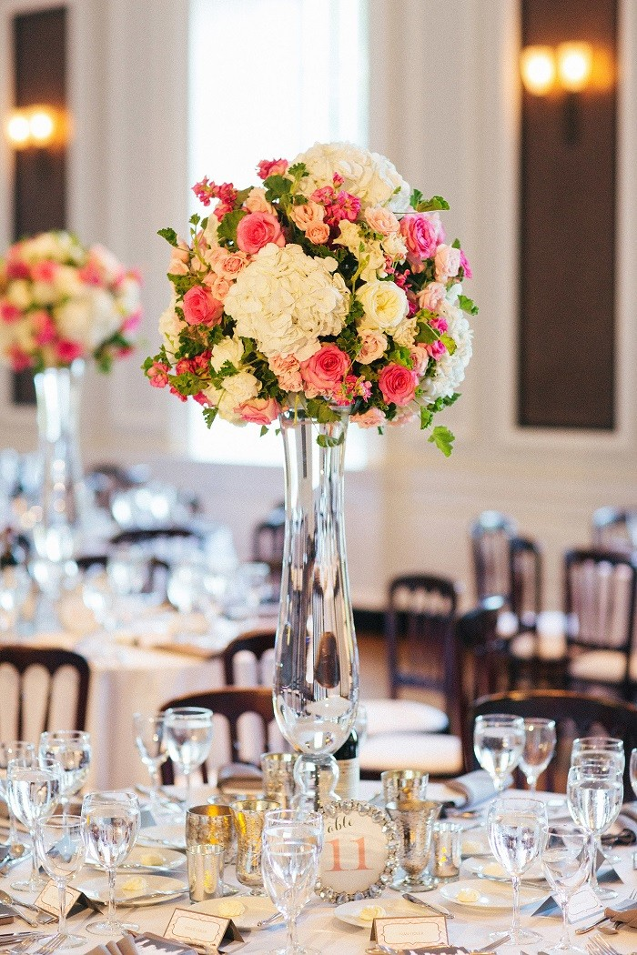 centers table precious weddings bouquets flowers ideas