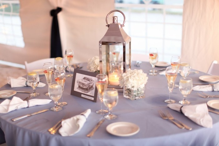 centerpieces for weddings lamppost silver ideas