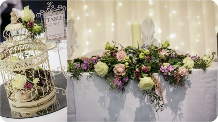 centerpieces for weddings vintage white cage ideas