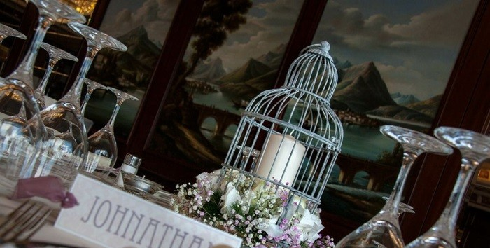centers weddings flowers cage ideas