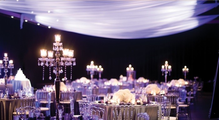 centers weddings luxury black ideas