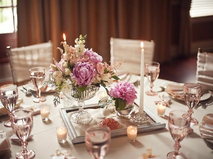centers table weddings vintage decoration ideas