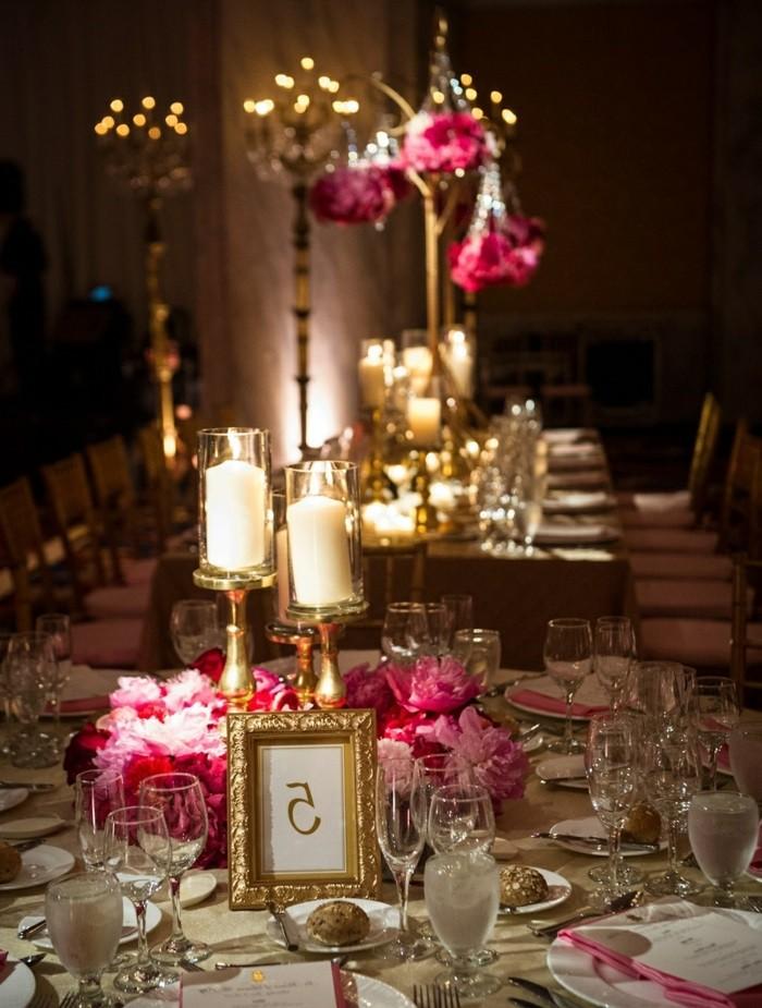 chandeliers wood flowers rose table wedding ideas