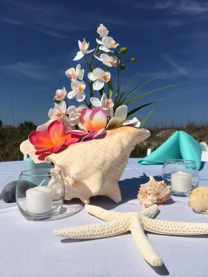 centers weddings design table beach ideas