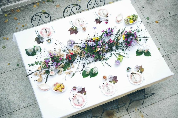 centers weddings lovely plants scattered ideas