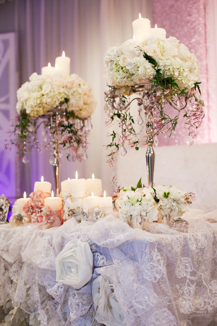 precious wedding tablecloth original decorations ideas