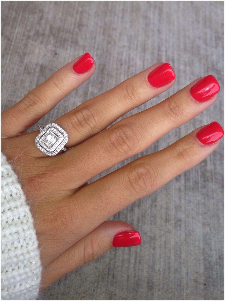 Short Nails Gel Manicure Ideas